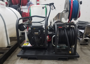 Pressure Washer Skid Mount Unit Maryland D C And Delaware