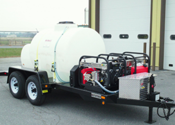 pressure washer trailer units