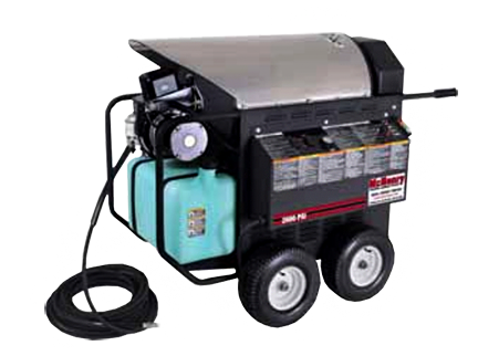 portable hot pressure washer